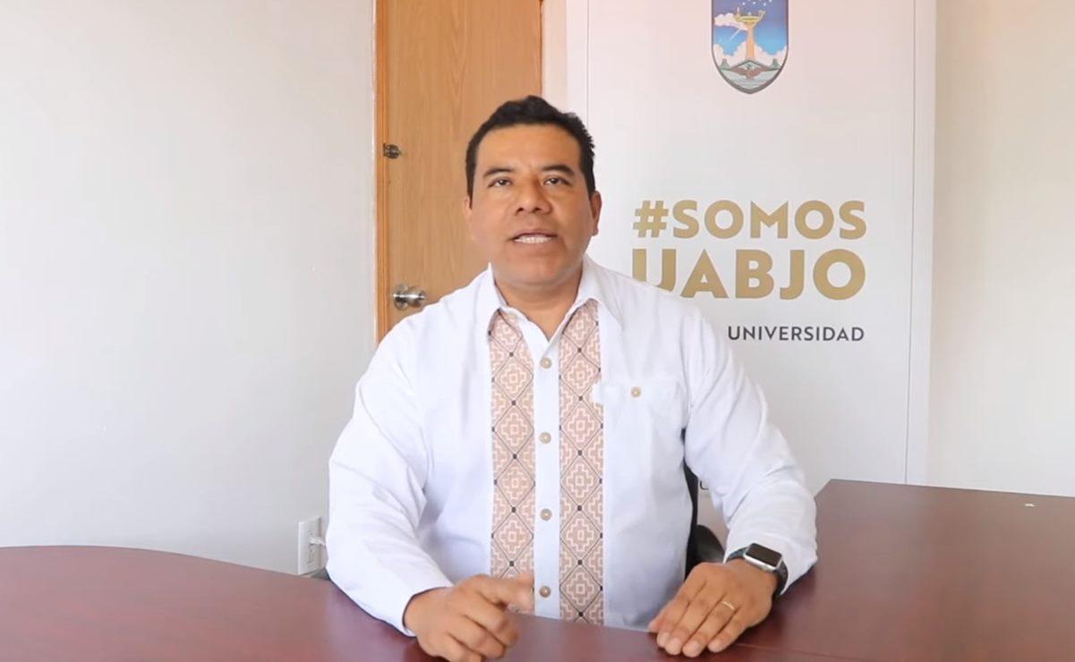 """Rector de la UABJO acusa a dirigente sindical de intentar organizar sucesión de rectoría """"a modo"""""""
