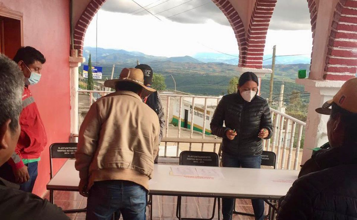 Liberan palacio municipal de Yucuná, en la Mixteca de Oaxaca, tras auditoría por presunto desvío de recursos