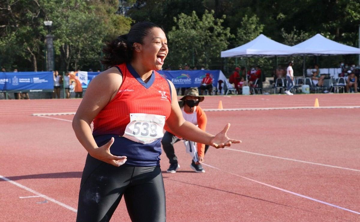 Destaca presencia de Oaxaca en Juegos Nacionales Conade; atletas ganan medallas y rompen récords