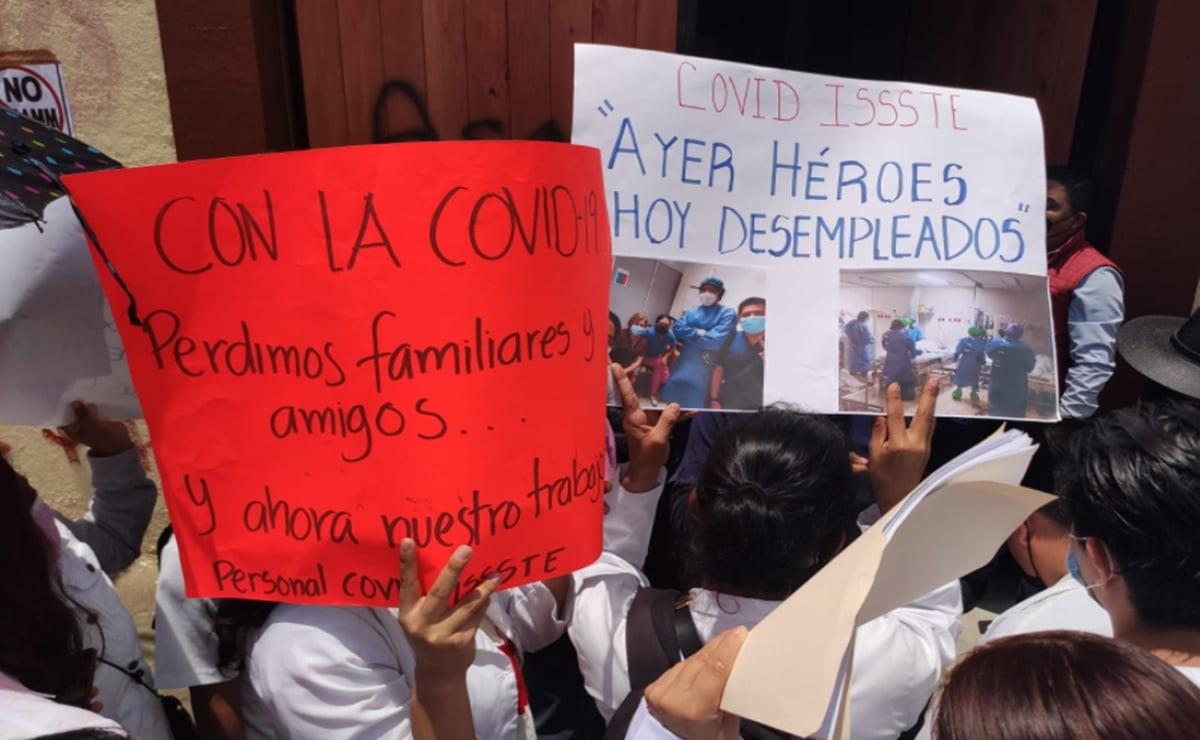 ISSSTE asegura que no ha ordenado cese de personal médico eventual en Oaxaca; pide denunciar despidos
