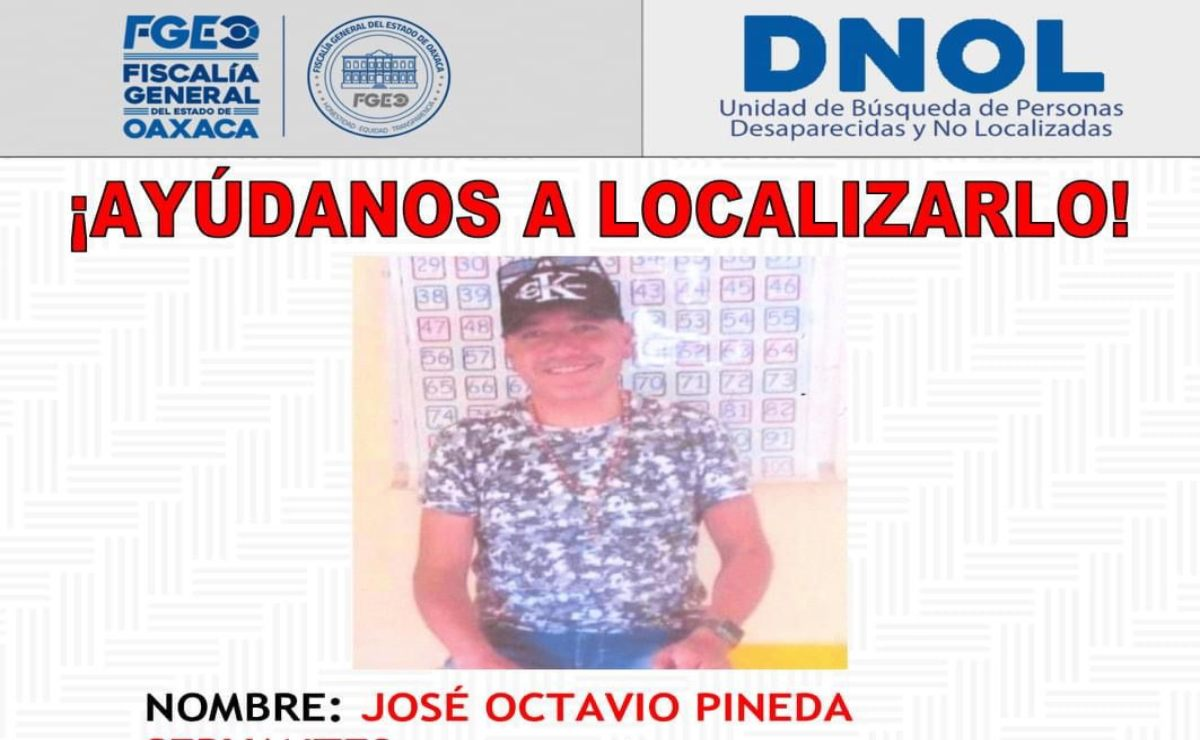 Desaparece profesor de educación indígena en Huautla de Jiménez, en la región Cañada de Oaxaca