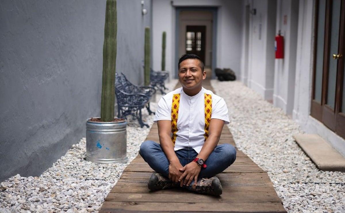 Luis Ángel, un joven de la Sierra Sur de Oaxaca que busca salvar la lengua chontal de la extinción