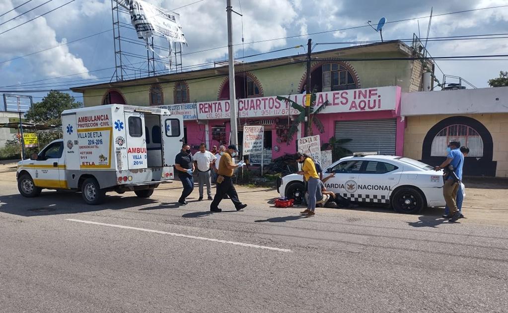 Sube a tres heridos saldo de enfrentamiento armado en Etla, Oaxaca; dos son agentes estatales
