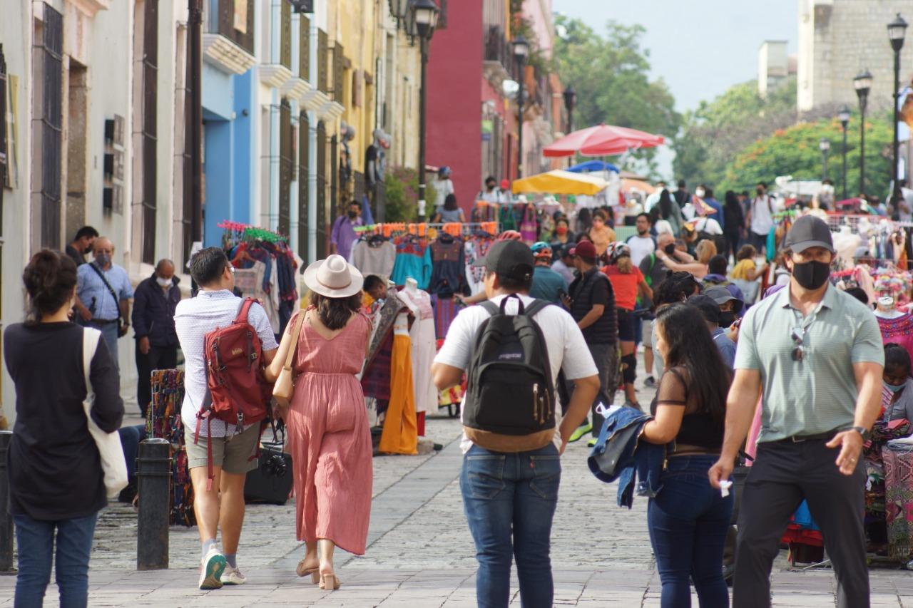 Se disparan a 824 los contagios activos de Covid-19 en Oaxaca, se sumaron más de 200 esta semana