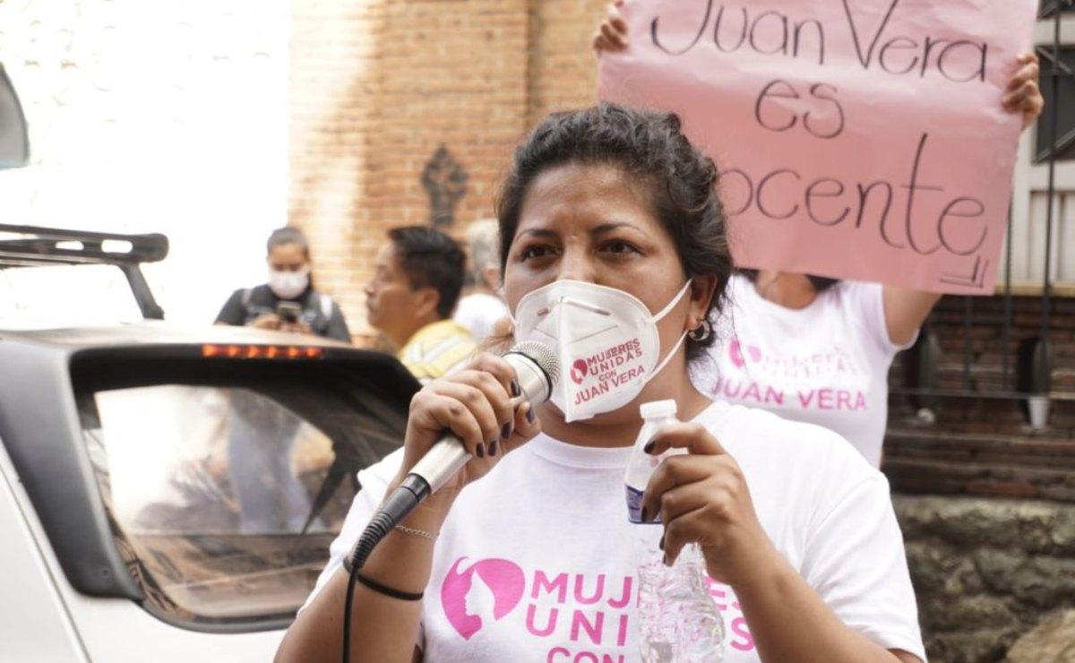 Las pruebas me respaldan, lo único que pido es justicia: María Elena Ríos, tras marcha a favor de su agresor
