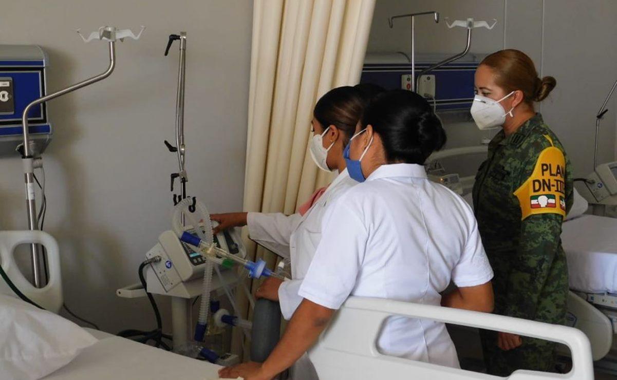 """Suspenden hasta """"nuevo aviso"""" recontratación de personal médico que enfrentó Covid en hospital de Juchitán"""