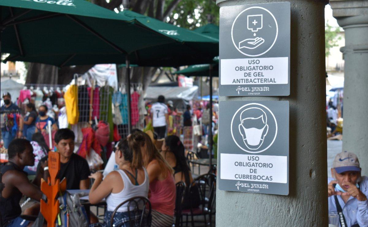 """Piden Servicios de Salud de Oaxaca ser """"turistas responsables"""" y cuidar medidas antiCovid estas vacaciones"""