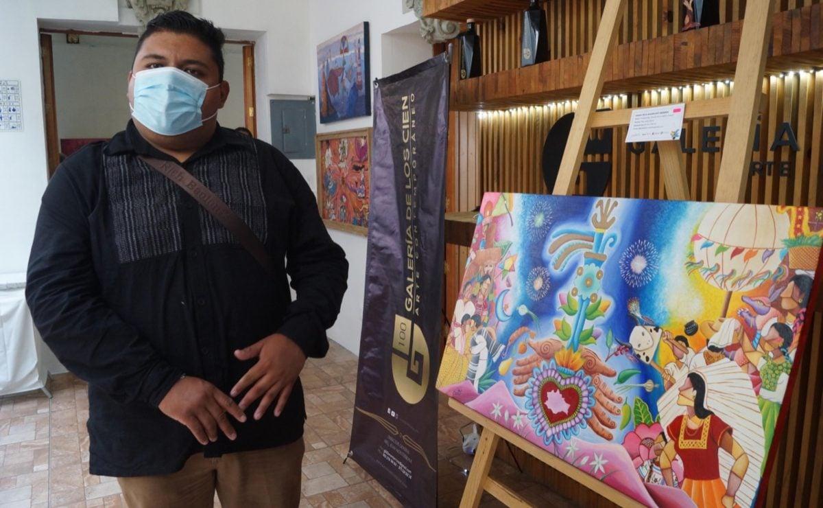 Erwis Rodríguez, el pintor que capturó la nostalgia por la Guelaguetza y en 3 días creó su imagen oficial