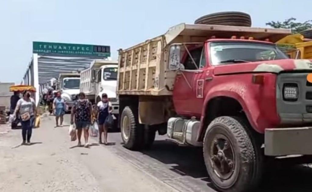 Sindicatos del Istmo de Oaxaca se confrontan nuevamente por obras del gobierno federal