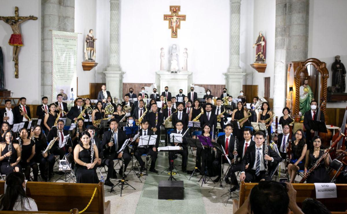 La Filarmónica de Oaxaca, una orquesta para el encuentro y la formación de jóvenes músicos