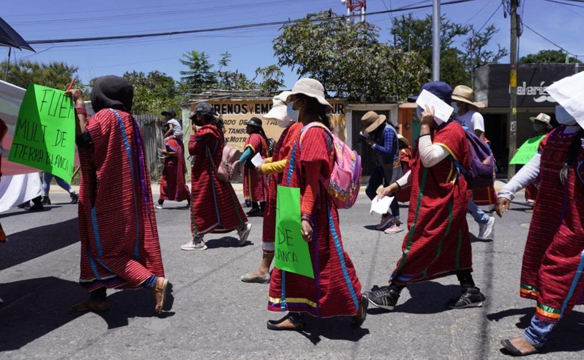 Triquis del MULTI exigen retorno seguro de desplazados por la violencia en la Mixteca de Oaxaca