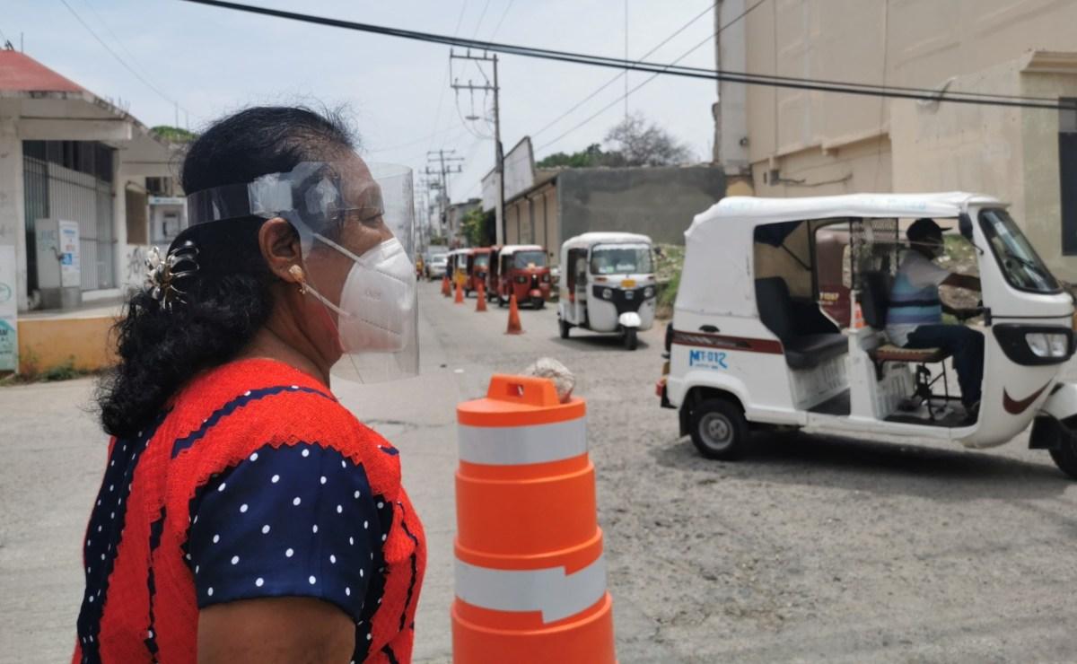 Ixtepec, Juchitán, Tehuantepec y Salina Cruz entran a semáforo rojo por Covid-19, anuncian los SSO