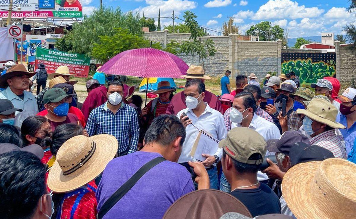 """Segego y MULTI acuerdan liberación parcial de carretera en Hacienda Blanca; pobladores amenazan con """"tomar represalias"""""""
