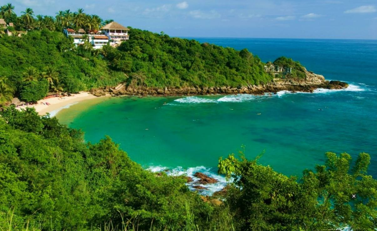 Puerto Escondido, uno de los 100 mejores destinos turísticos del mundo, según la revista Time