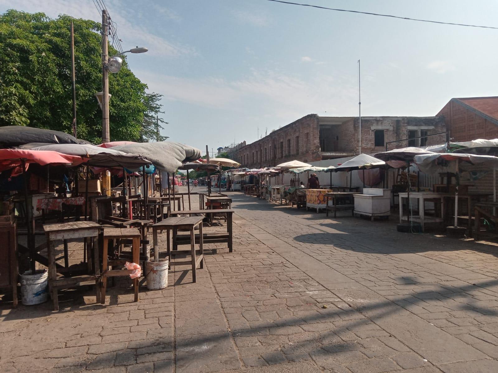 Vuelve silencio a mercados de Juchitán, el corazón comercial del Istmo de Oaxaca, por tercera ola de Covid-19