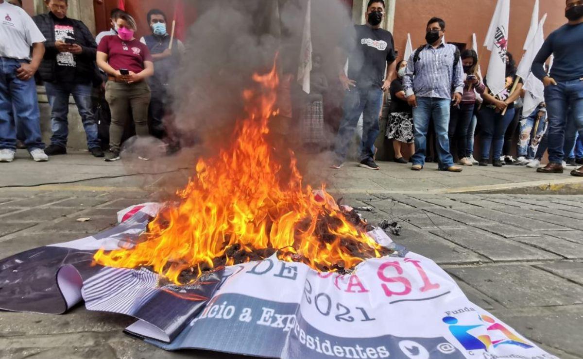 """Desde Oaxaca exigen a AMLO juicio a expresidentes con o sin consulta y fin de """"pacto de impunidad"""""""