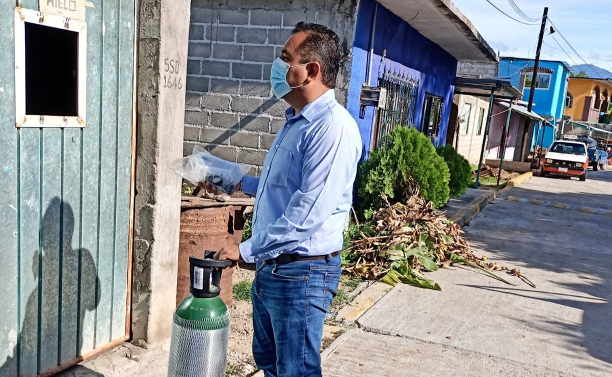 Tequisistlán, en el Istmo de Oaxaca, enfrenta brote de Covid-19; pide a pobladores no detenerse, para no contagiarlos