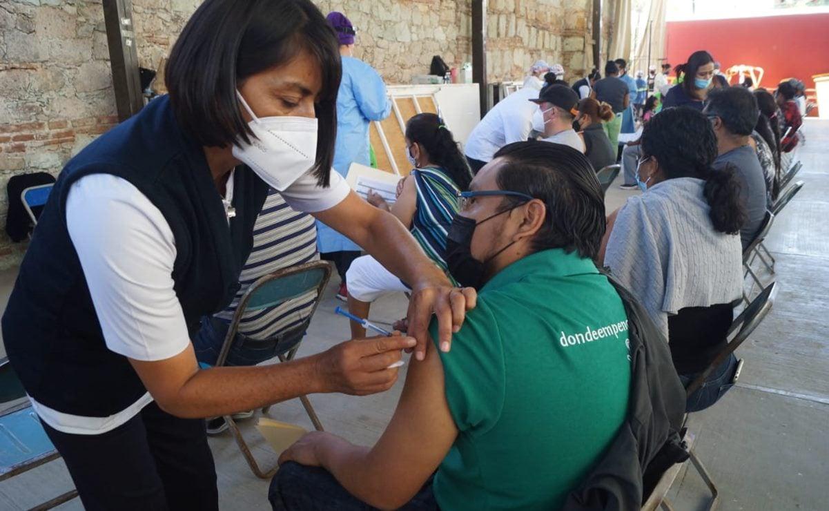 Tras petición de AMLO, anuncian vacunación Covid para mayores de 30 en Valles Centrales de Oaxaca