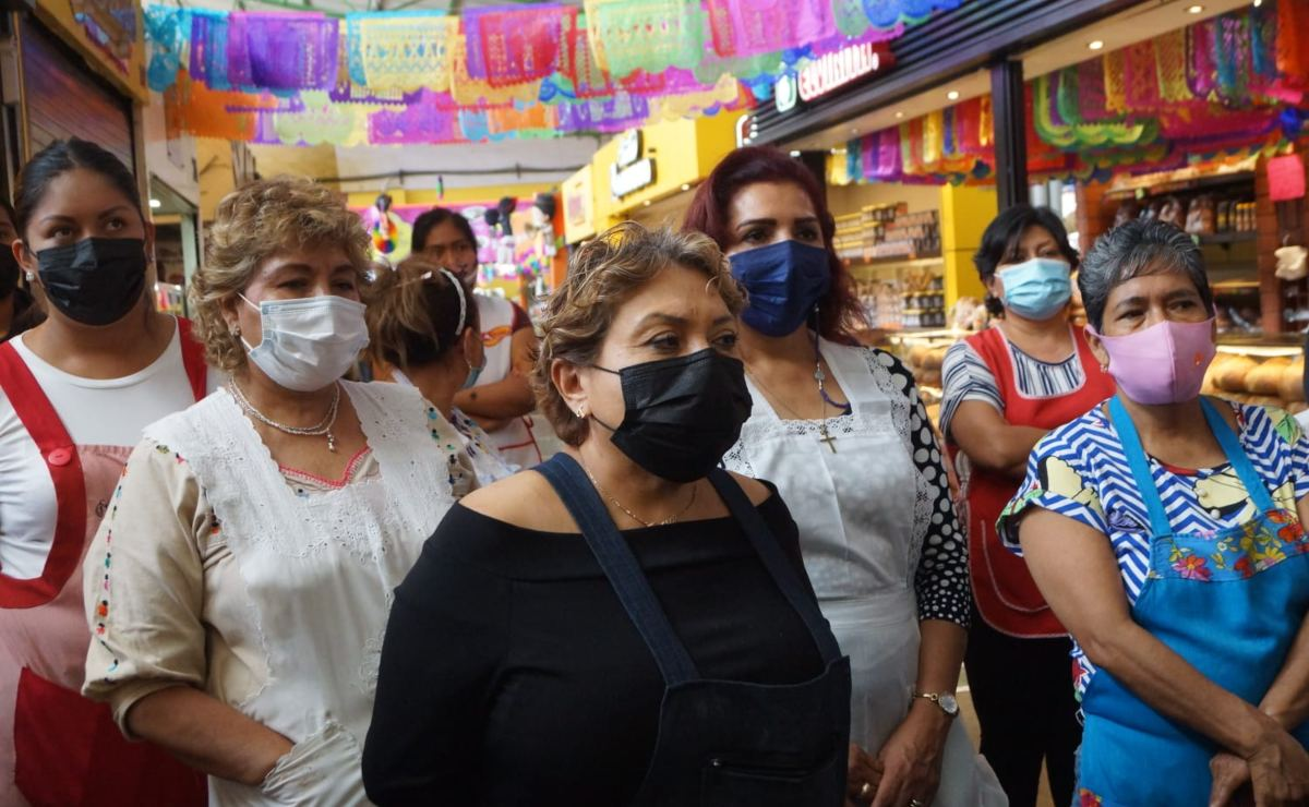Locatarios del Mercado 20 de noviembre niegan negociación con gobierno; van contra Centro Gastronómico