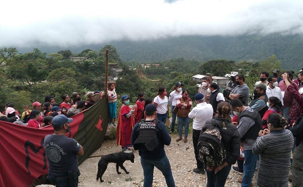 MULT y diputadas federales de Morena frustran retorno de 137 familias triquis desplazadas por la violencia