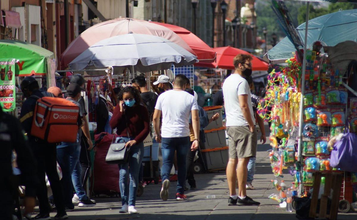 Contagios de Covid aumentaron 1,000% en últimas 4 semanas en Oaxaca; pide reducir movilidad