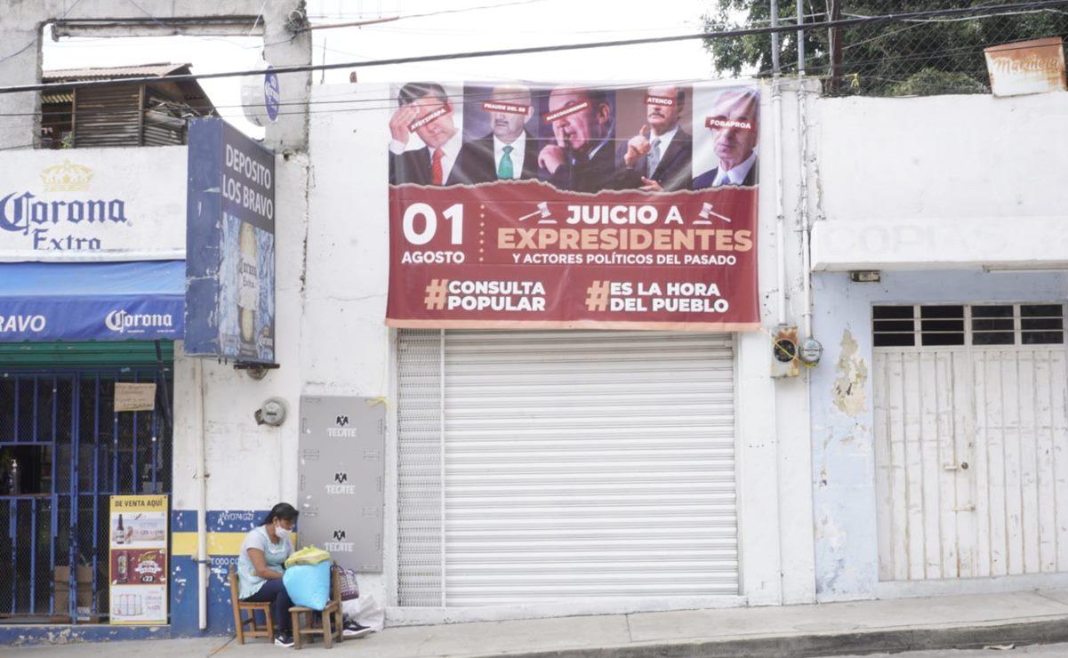 Instalará INE en Oaxaca mil 869 mesas receptoras para consulta popular sobre juicio a expresidentes