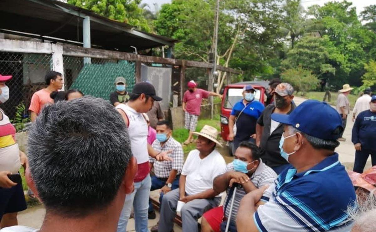 Pobladores de San Juan Mazatlán Mixe retienen a diputada en bloqueo de la carretera Transístmica