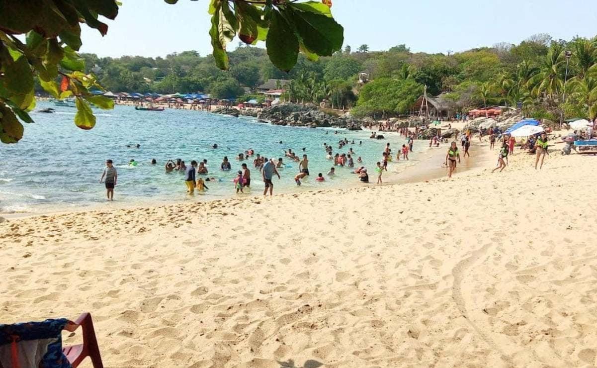 Ante aumento de muertes y contagios de Covid-19 en Oaxaca, cierran playas en Puerto Escondido