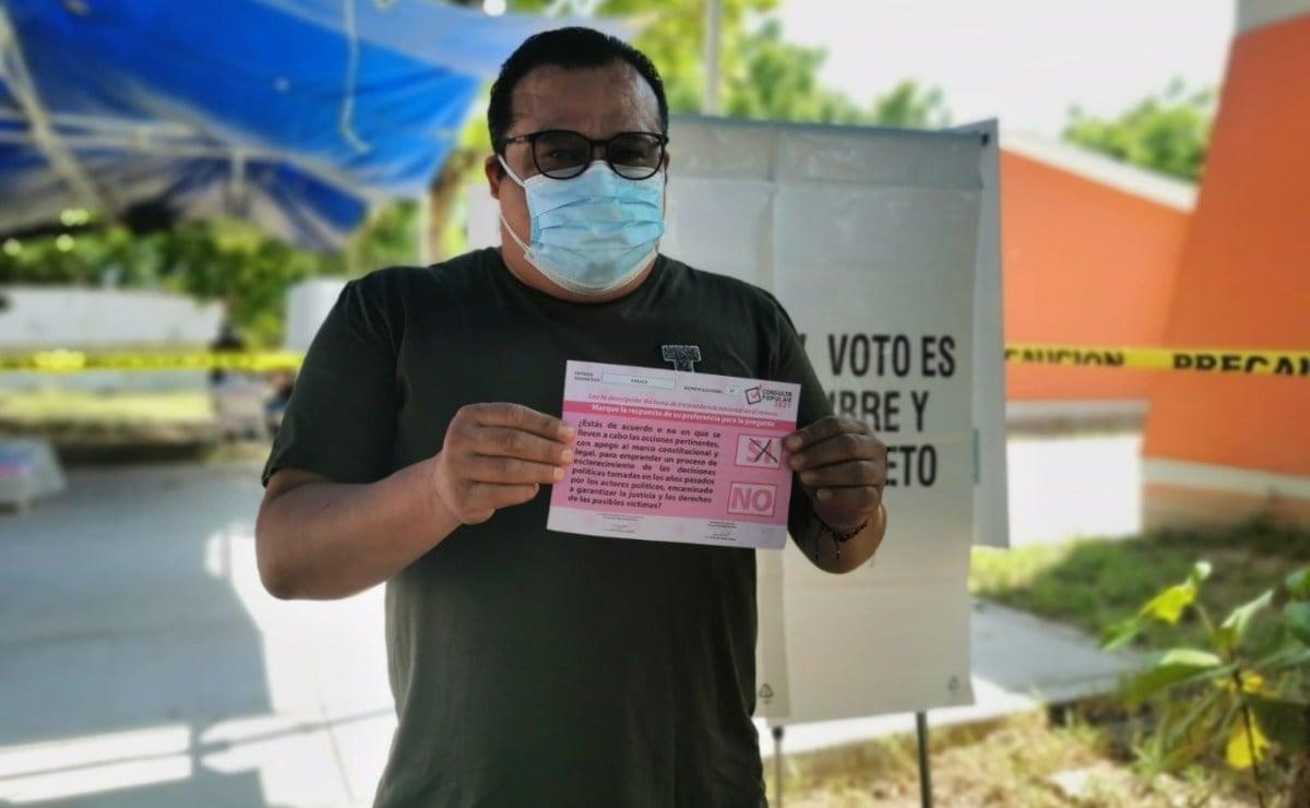 Consulta Popular avanza en 42 municipios del Istmo de Tehuantepec; ciudadanos se quejan de cambios de casilla