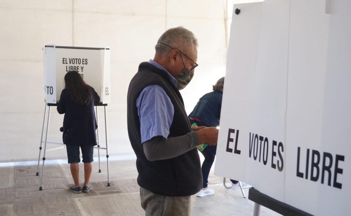 Reporta el INE 100% de mesas receptoras instaladas para la Consulta Popular en Oaxaca