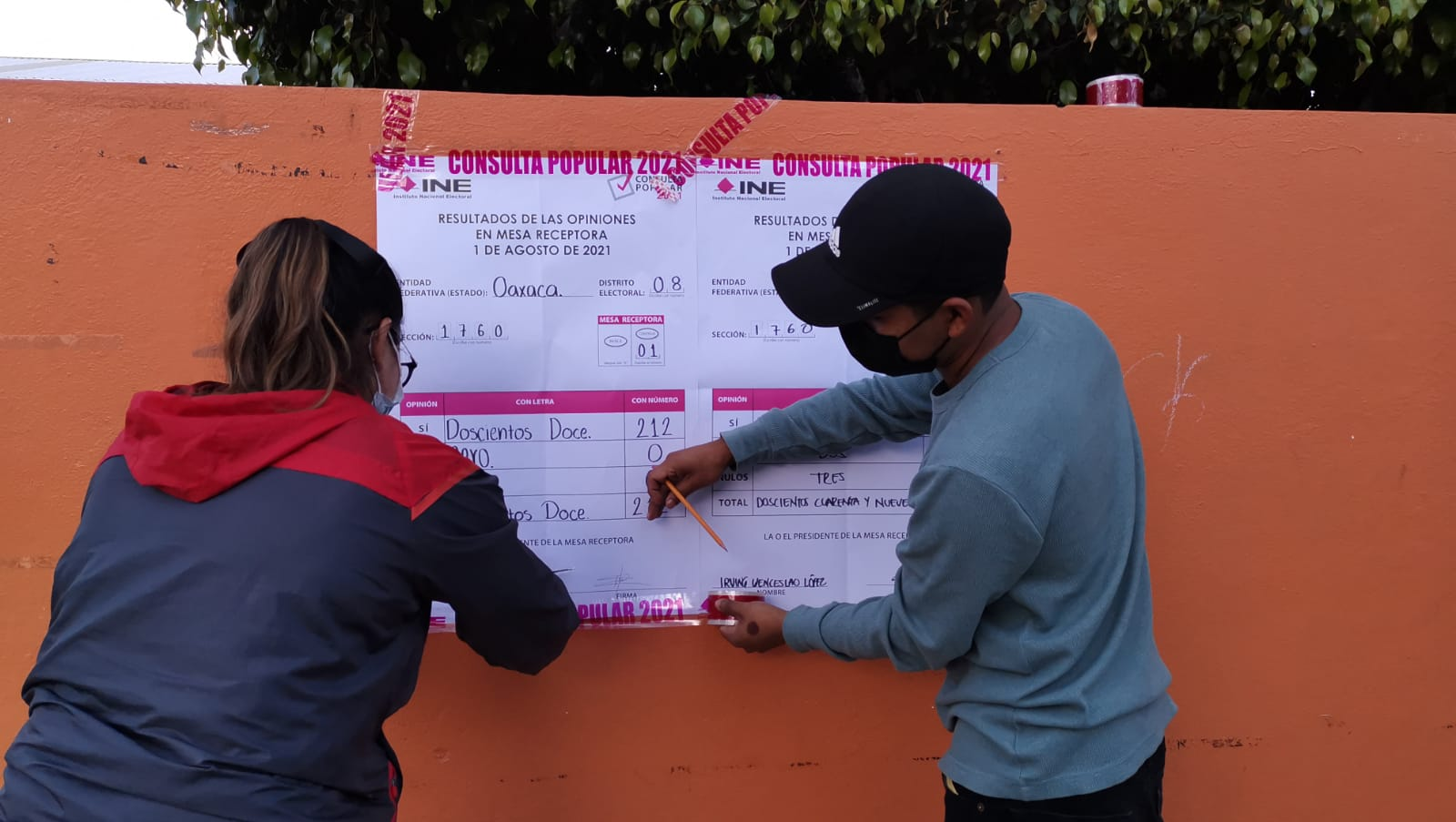 Con la mitad de actas computadas, Consulta Popular en Oaxaca registró participación de 5.18%