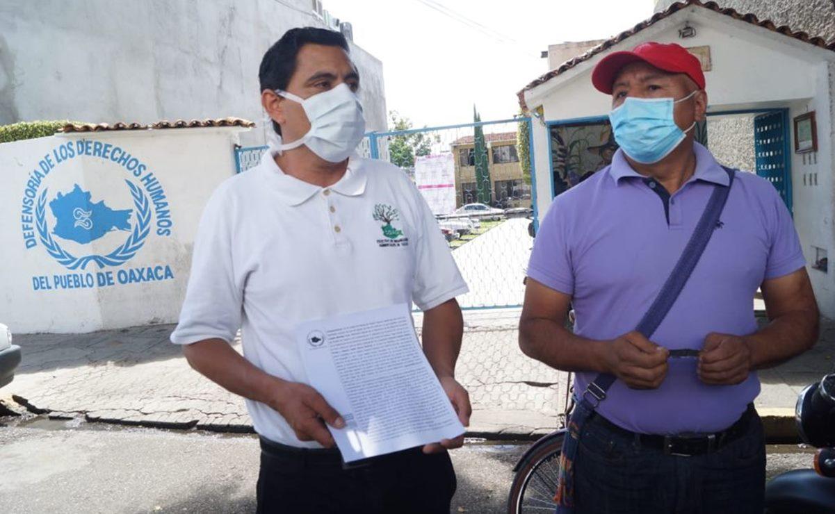 Presentan queja contra Sinfra y municipio de Oaxaca de Juárez por violar derecho humano a ambiente sano