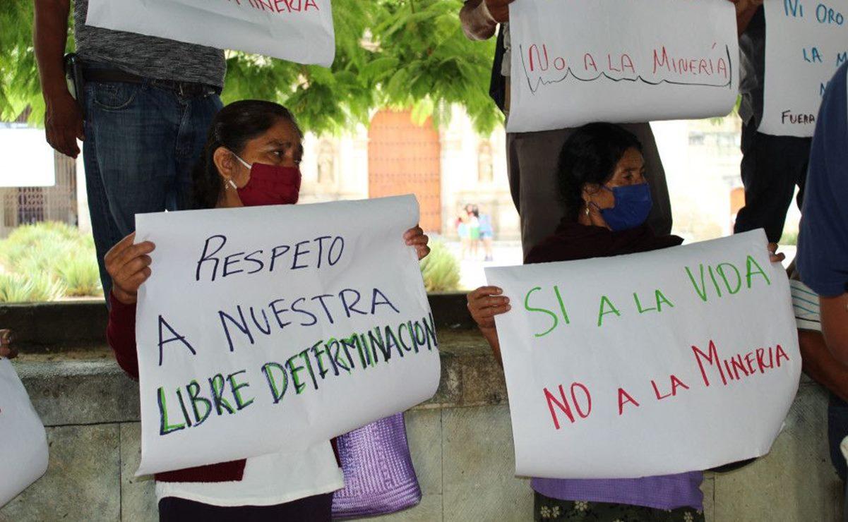 Por concesiones mineras, advierten conflictos sociales y daños ambientales en 7 municipios de Oaxaca