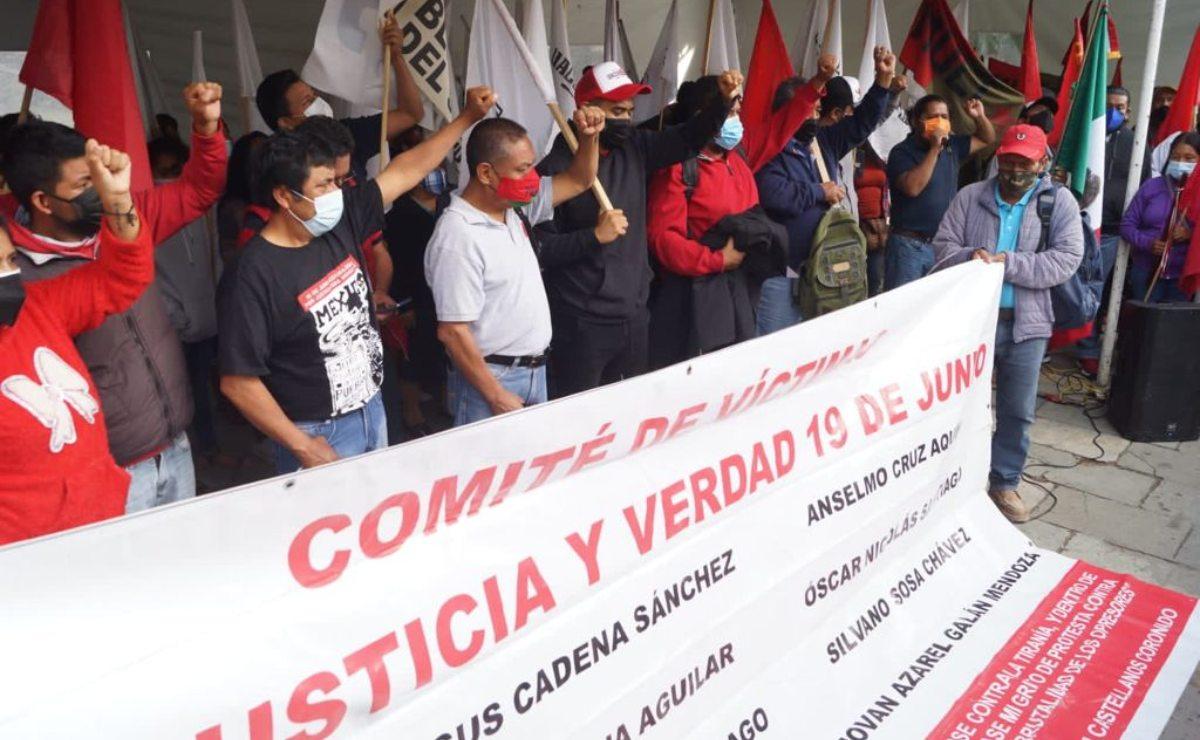 Se declaran en huelga de hambre 12 víctimas en Oaxaca; exigen comparecencia de EPN por hechos de Nochixtlán