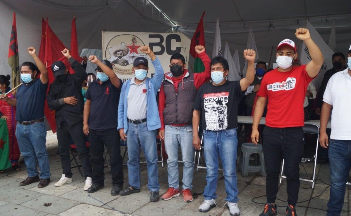 Tras diálogo con gobierno de Oaxaca, Red de Víctimas levanta huelga de hambre; anuncian caravana a Cdmx