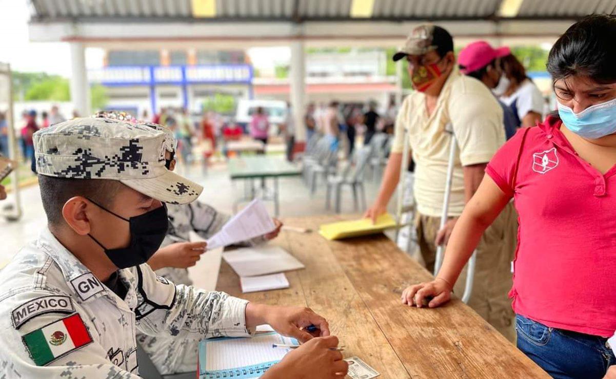 Arranca en el Istmo vacunación para mayores de 18 años de 523 comunidades rurales de Oaxaca