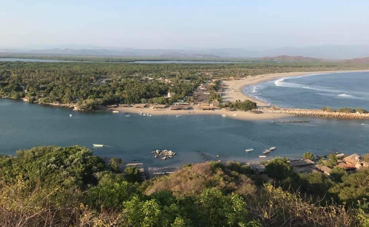 Ante aumento de Covid-19, Chacahua, en la Costa de Oaxaca, cierra acceso y desaloja a turistas