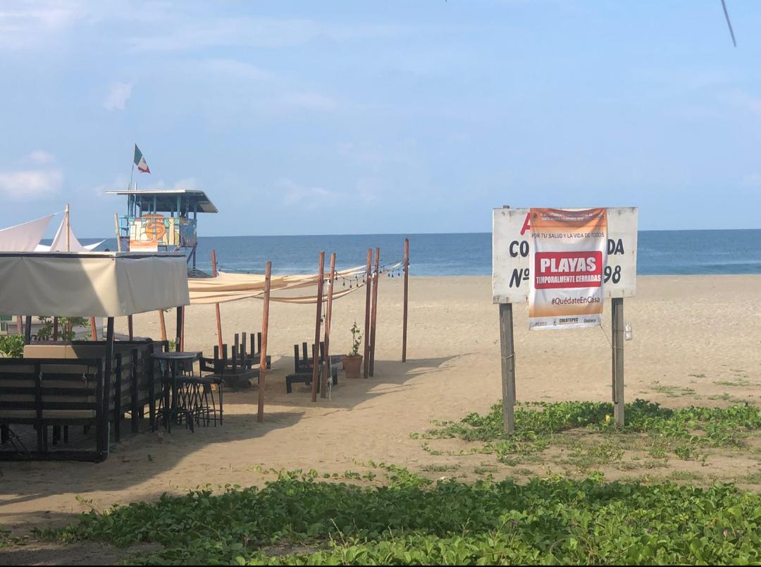 Reculan en cierre total de playas de la Costa de Oaxaca; Huatulco reducirá servicios a 30%