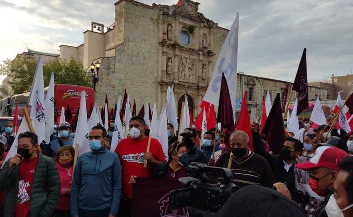 Parte de Oaxaca caravana de organizaciones a la CDMX, exigen a FGR justicia para víctimas