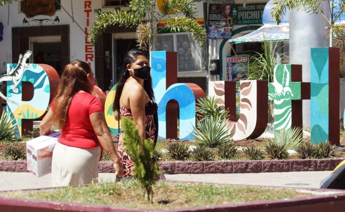 Suspenden corridas de transporte de Pochutla a Puerto Escondido, por emergencia de Covid-19
