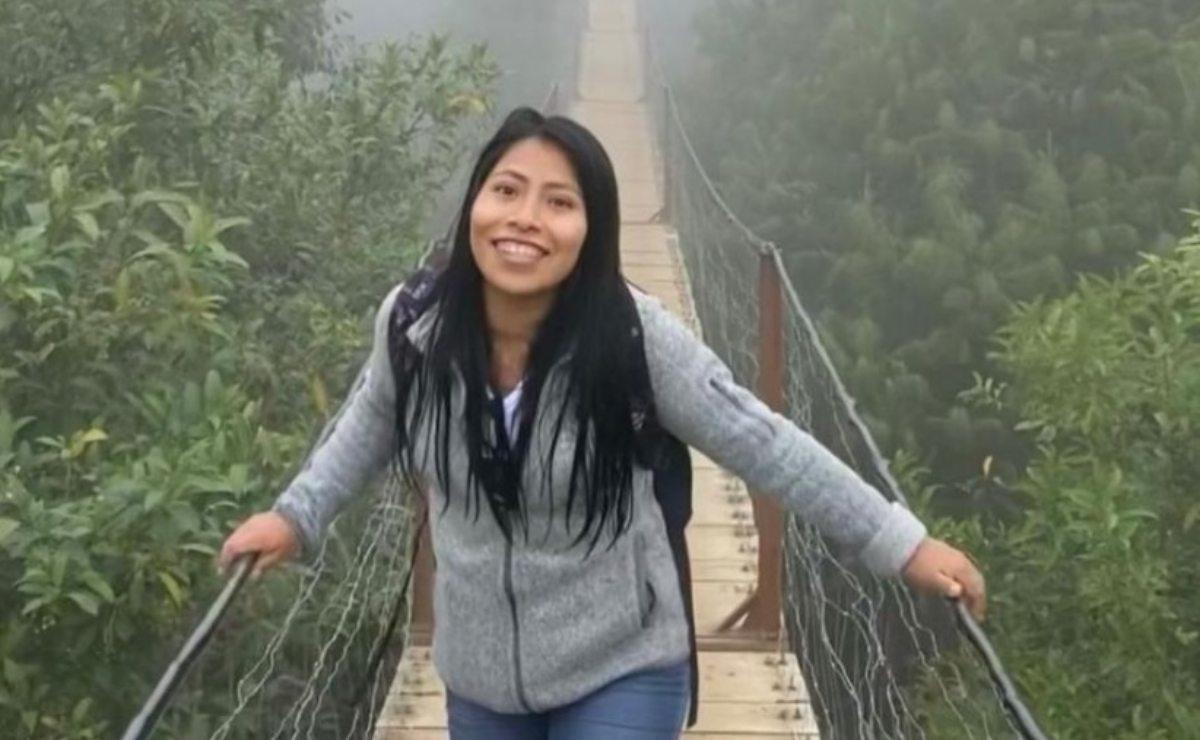 Yalitza Aparicio viaja a Puebla y visita las Cascadas Arcoiris