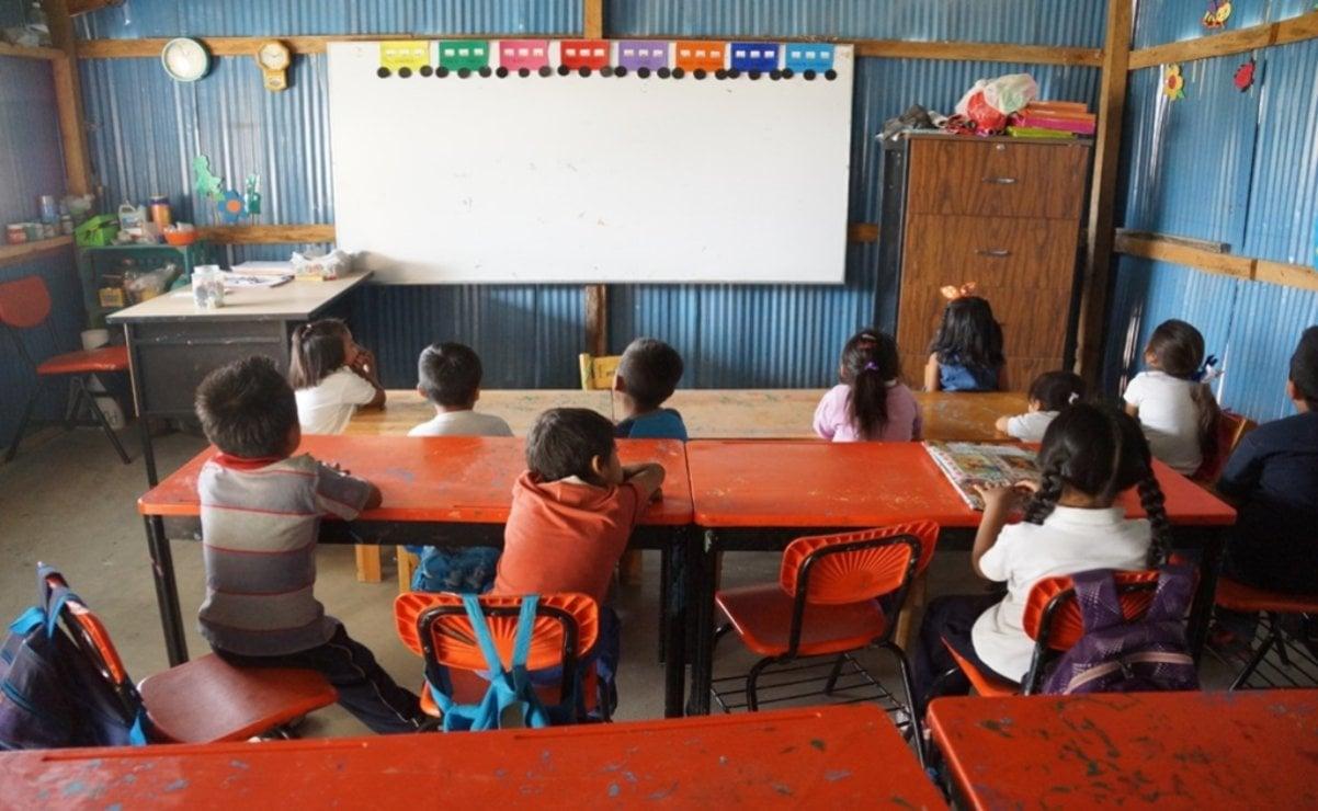 Profesores de la Sección 59, de acuerdo con el regreso a clases presenciales en Oaxaca