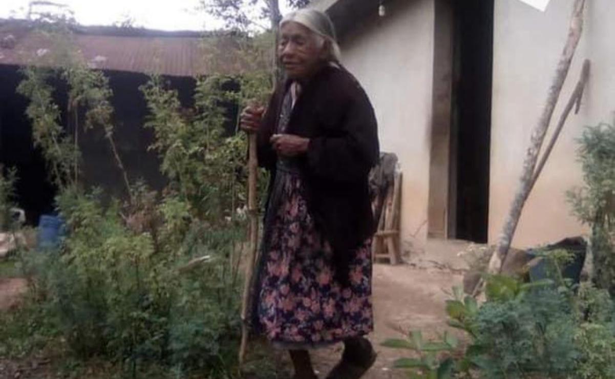 Dan prisión preventiva a dos hermanos por feminicidio de Angelina, de 94 años, en la Cañada de Oaxaca