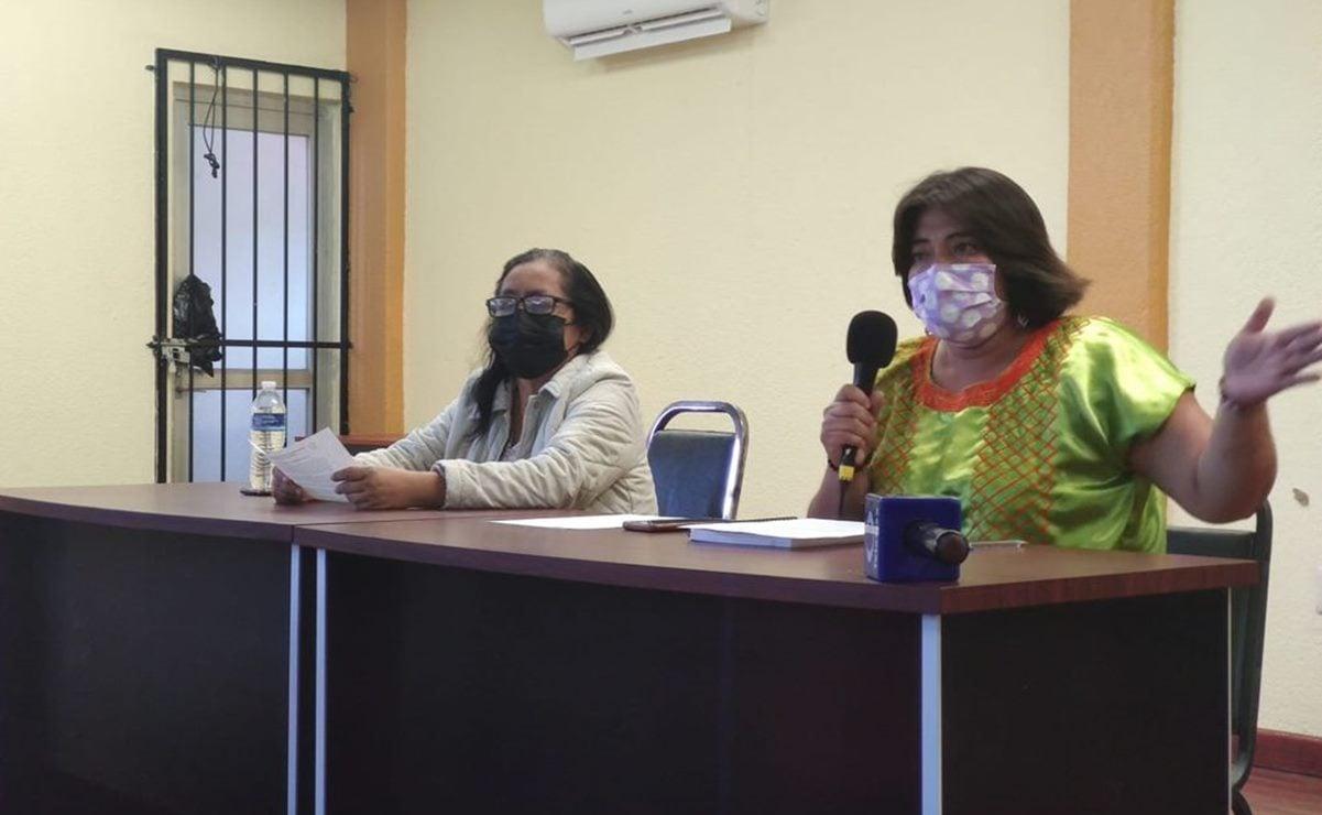 Madres y padres de familia rechazan regreso a clases presenciales en Oaxaca y firma de carta de la SEP