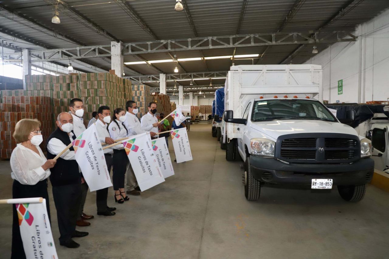 Arranca la entrega de más de 7 millones de libros de texto gratuitos en Oaxaca