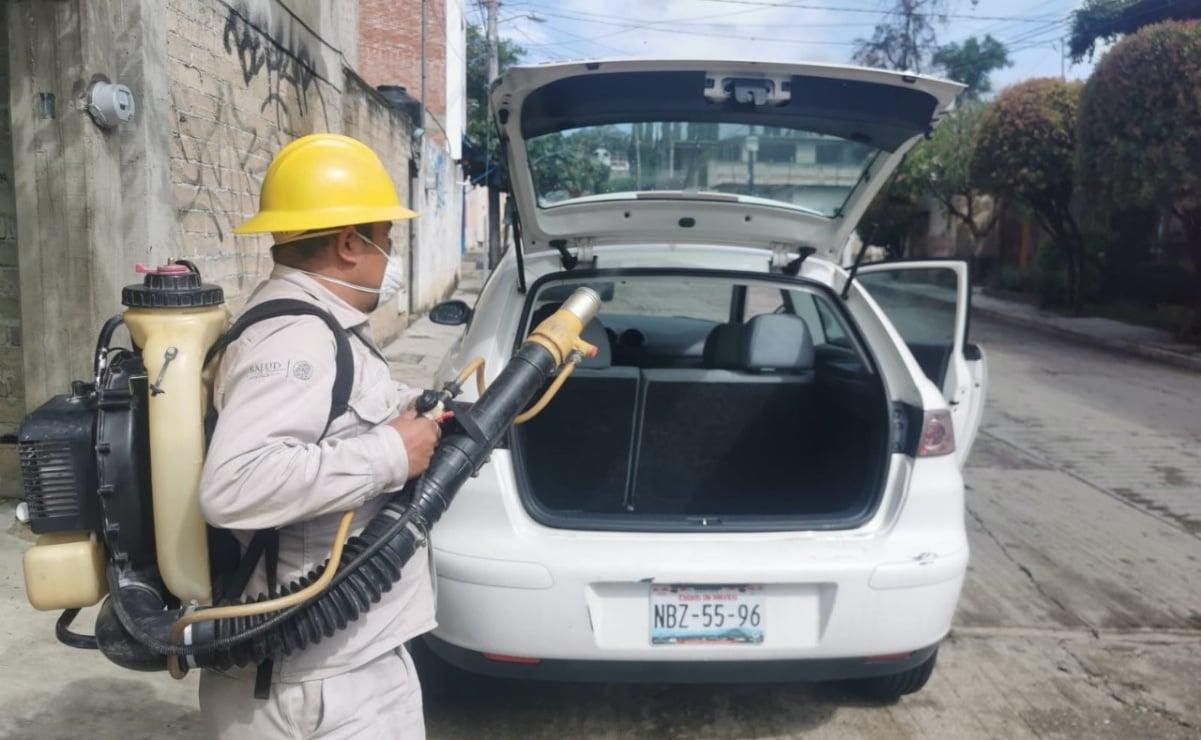 """Cumple Oaxaca 8 años libre de paludismo; Márquez Heine felicita al """"Ejército de cascos amarillos"""""""