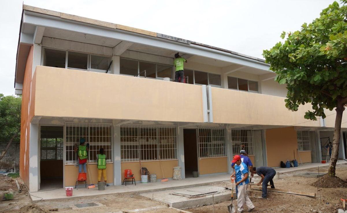 Al 90%, la reconstrucción de escuelas de Oaxaca afectadas por terremoto del 7S; Congreso cuestiona cifras