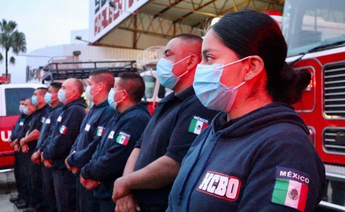 Reconocen gobierno estatal 67 años de labor del Heroico Cuerpo de Bomberos de Oaxaca