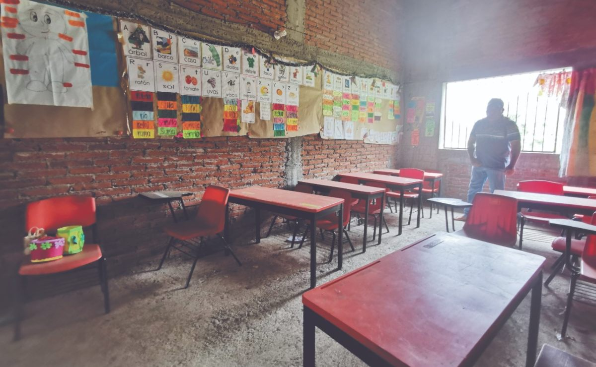 Miedo al virus, obstáculo a vencer para maestros de Oaxaca, ante regreso a clases presenciales