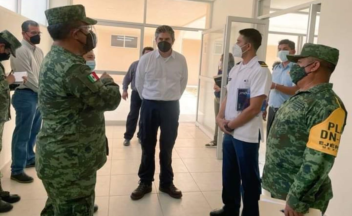 Secretario de Salud de Oaxaca visita Hospital Covid-19 de Juchitán; reabrirá la próxima semana: autoridades